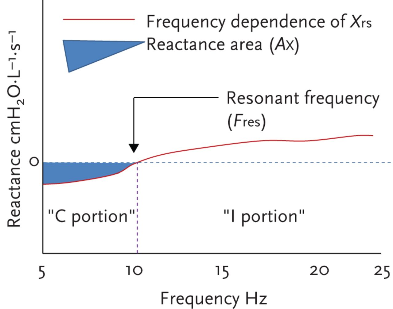 Measuring lung function using sound waves: role of the