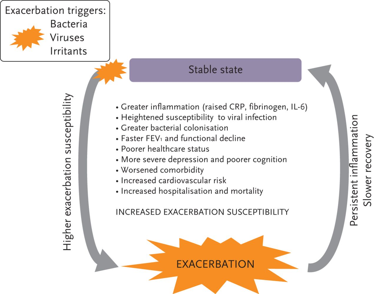 copd exacerbations: impact and prevention | european respiratory society