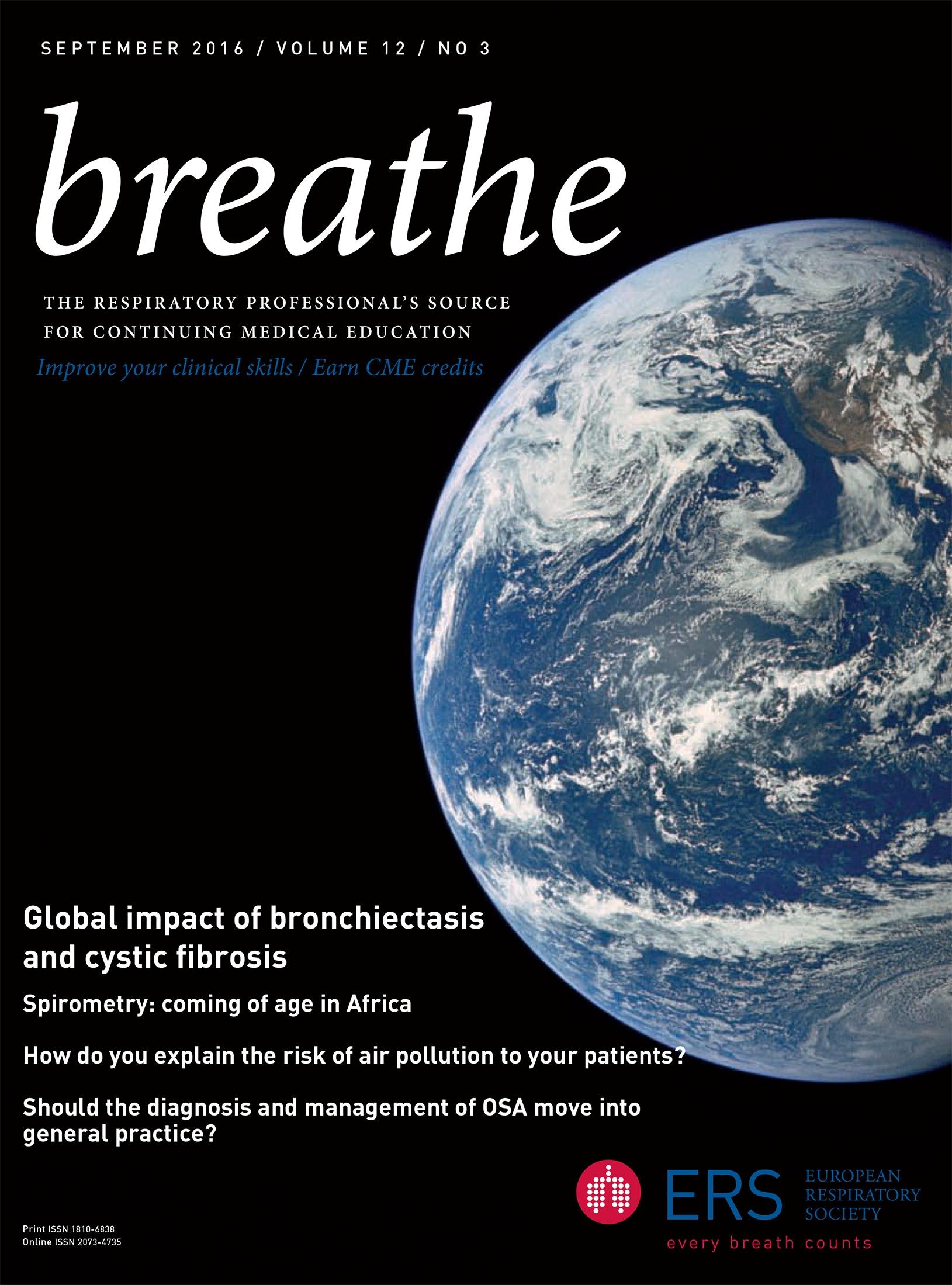 Global impact of bronchiectasis and cystic fibrosis | European ...