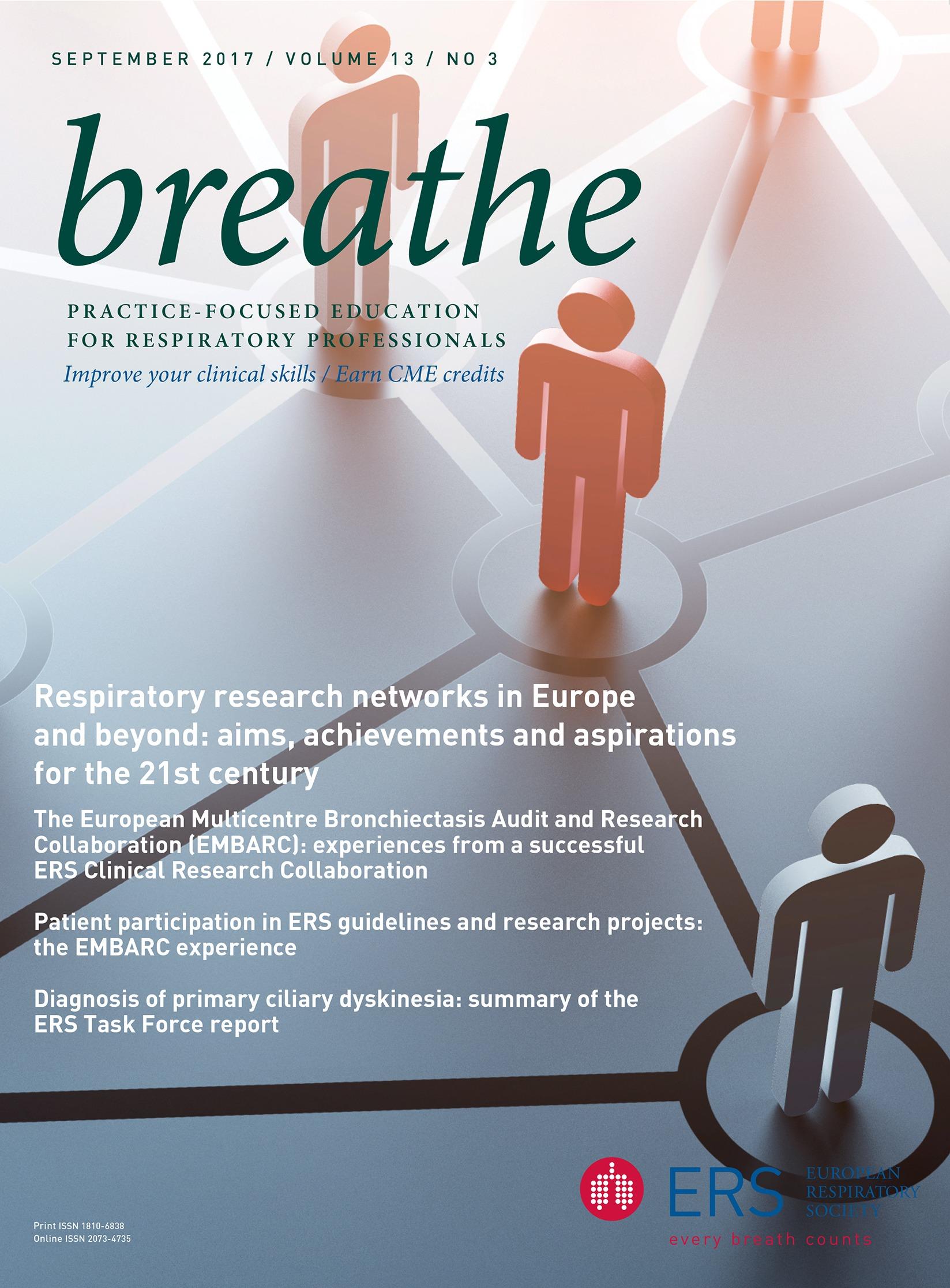 Respiratory training in Greece   European Respiratory Society